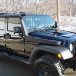 Jeep Wrangler JKU with Snorkel